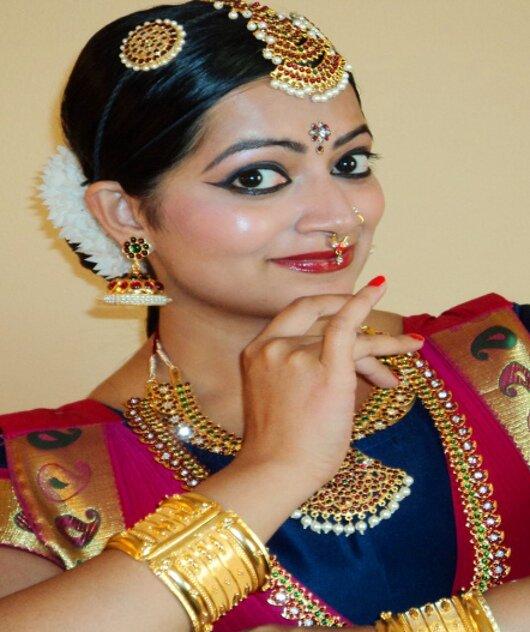 bharatanatyam makeup for kids - photo #3